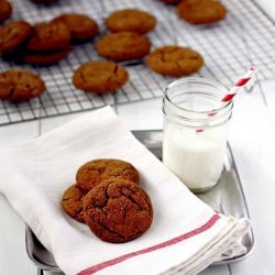 Soft Molasses Spice Cookies