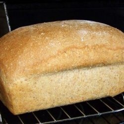Cracked Wheat Bread (For Bread Machine)