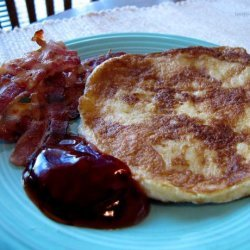 Eggy Crumpets With Bacon