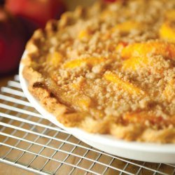 Open-Face Peach Pie