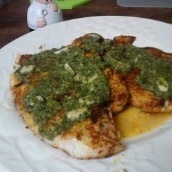 Tilapia With Lime Butter