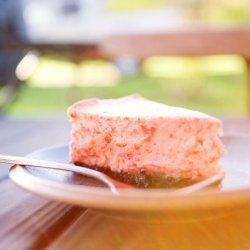 White Chocolate and Bailey's Cheesecake