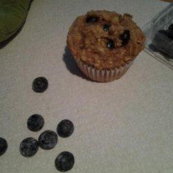 Banana-Yogurt Oatmeal Muffins