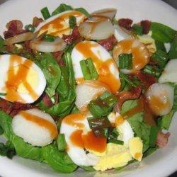 Spinach Toss Salad