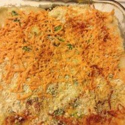 Vegan Broccoli & Cauliflower Casserole