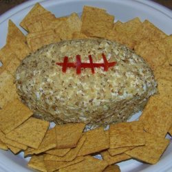 Super Bowl Cheese Football