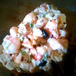 Shrimp Salad Bagels