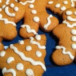 Low Fat Gingerbread Cookies