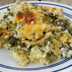 Simple Broccoli Souffle
