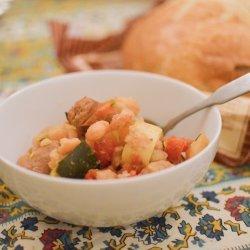 Beans & Sausage - Crock Pot