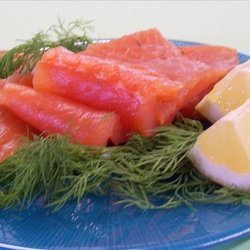 Julia Child's Traditional Gravlax