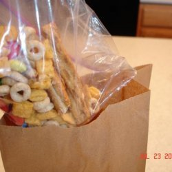 Choco Peanut Butter Snack Mix
