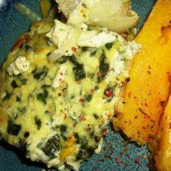 Vegetarian Spinach & Potato Frittata
