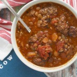 Sausage and Lentil Soup