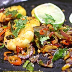 Shrimp With Spicy Masala