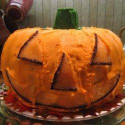 Halloween Fun - Pumpkin Cake O' Lantern (Jack O'lantern)