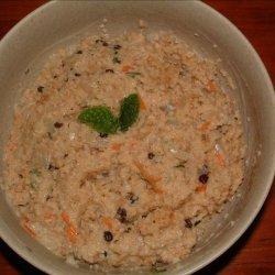 Couscous With Mint-Yogurt Sauce