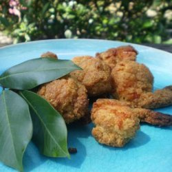 Crispy Prawns With Lemon Myrtle recipe