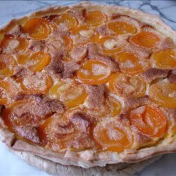 French Style Apricot Tart
