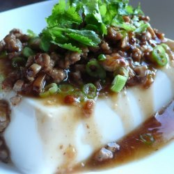 Steamed Tofu With Minced Pork