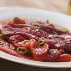 Marinated Capsicums (peppers)