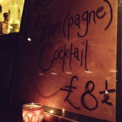 Sham-Pagne Cocktail