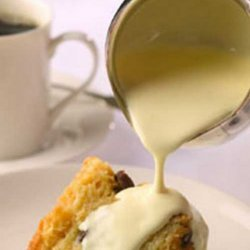Irish Bread Pudding  With Whiskey Sauce