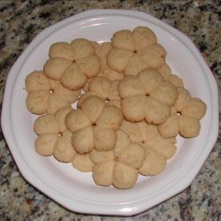 Cheddar Cheese Spritz Crackers