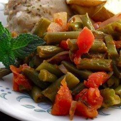 Fashoulakia (Greek Green Bean Side Dish)