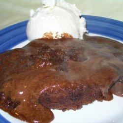 Warm Chocolate Cake - Bridges Restaurant, Danville, Ca
