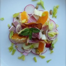 Belgian Endive, Orange and Date Salad recipe