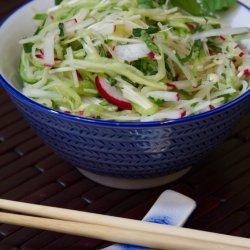 Cucumber & Enoki Salad