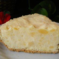 Pineapple Ice Cream Pie