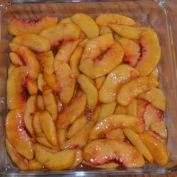 Old Fashion Peach Cobbler