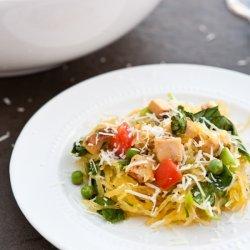 Chicken and Spaghetti Squash