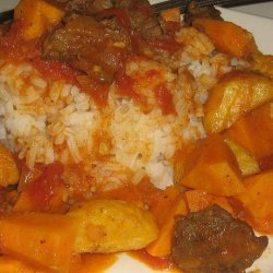 Curried Banana Beef Stew