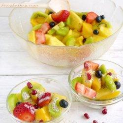 Fruit Salad With Honey Dressing
