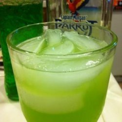 Pineapple Melon Colada Martini
