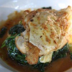 Polenta With Creamy Spinach