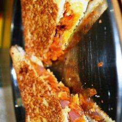 Vegetable Stuffed Sandwich