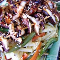 Shiitake Skewers recipe