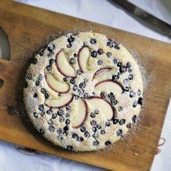 Blueberry Batter Cake