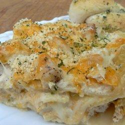 Cheesy Chicken Lasagna