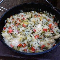 Chicken and Rice Chili