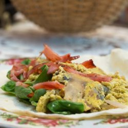 Florentine Breakfast Wraps recipe