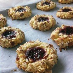 Diabetic Thumbprint Cookies