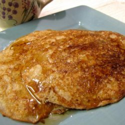 Aunt Dianna's Blender Whole Grain Pancakes recipe