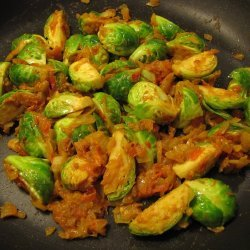 Brussels Sprouts & Curry