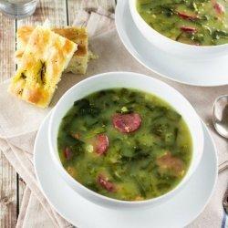 Portuguese Greens Soup (Caldo Verde)