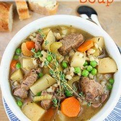 Beef & Barley Soup # 46